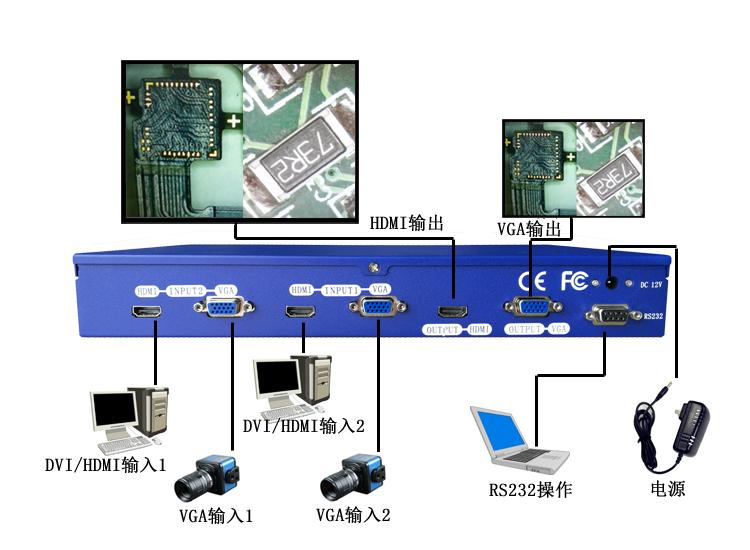 DS-HD201D 连接图